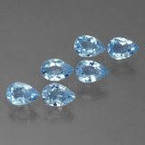 thumb image of 3.4ct Pear Facet Sky Blue Topaz (ID: 452246)