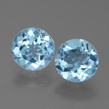 thumb image of 4.9ct Round Facet Sky Blue Topaz (ID: 452290)