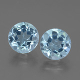 thumb image of 4.4ct Round Facet Sky Blue Topaz (ID: 452295)