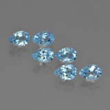 thumb image of 0.6ct Pear Facet Swiss Blue Topaz (ID: 452385)