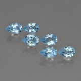 thumb image of 3.2ct Pear Facet Sky Blue Topaz (ID: 452386)