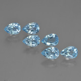 thumb image of 3.5ct Pear Facet Sky Blue Topaz (ID: 452472)