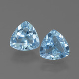 thumb image of 2.7ct Trillion Facet Sky Blue Topaz (ID: 452586)