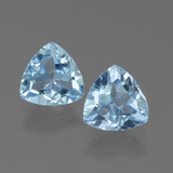 thumb image of 2.8ct Trillion Facet Sky Blue Topaz (ID: 452588)