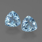 thumb image of 1.5ct Trillion Facet Sky Blue Topaz (ID: 452590)