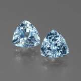 thumb image of 2.7ct Trillion Facet Sky Blue Topaz (ID: 452614)
