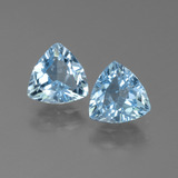 thumb image of 2.5ct Trillion Facet Sky Blue Topaz (ID: 452615)
