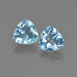 thumb image of 1.5ct Trillion Facet Sky Blue Topaz (ID: 452619)