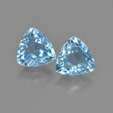 thumb image of 2.5ct Trillion Facet Sky Blue Topaz (ID: 452621)