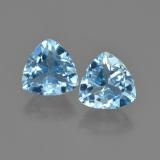 thumb image of 2.8ct Trillion Facet Sky Blue Topaz (ID: 452627)