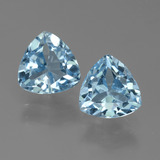 thumb image of 3.1ct Trillion Facet Sky Blue Topaz (ID: 452660)