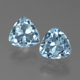 thumb image of 3ct Trillion Facet Sky Blue Topaz (ID: 452664)