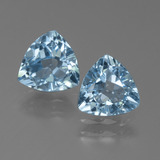 thumb image of 2.3ct Trillion Facet Sky Blue Topaz (ID: 452693)
