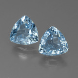 thumb image of 2.5ct Trillion Facet Sky Blue Topaz (ID: 452726)