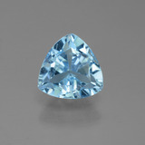 thumb image of 1.4ct Trillion Facet Sky Blue Topaz (ID: 452742)