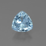 thumb image of 1.6ct Trillion Facet Sky Blue Topaz (ID: 452748)