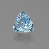 thumb image of 1.3ct Trillion Facet Sky Blue Topaz (ID: 452749)