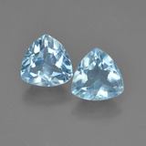 thumb image of 1.4ct Trillion Facet Sky Blue Topaz (ID: 452753)