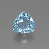 thumb image of 1.2ct Trillion Facet Sky Blue Topaz (ID: 452895)