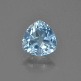 thumb image of 1.4ct Trillion Facet Sky Blue Topaz (ID: 452970)