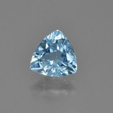 thumb image of 1.2ct Trillion Facet Sky Blue Topaz (ID: 452971)