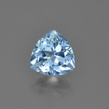 thumb image of 1.2ct Trillion Facet Sky Blue Topaz (ID: 452972)