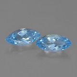 thumb image of 3.7ct Marquise Facet Sky Blue Topaz (ID: 454683)