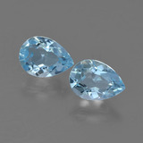 thumb image of 0.9ct Pear Facet Sky Blue Topaz (ID: 454709)