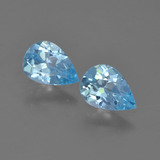 thumb image of 1.4ct Pear Facet Sky Blue Topaz (ID: 454710)
