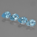 thumb image of 3.7ct Pear Facet Sky Blue Topaz (ID: 454831)