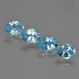 thumb image of 3.2ct Pear Facet Sky Blue Topaz (ID: 454837)