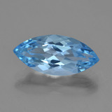 thumb image of 3.6ct Marquise Facet Sky Blue Topaz (ID: 454844)