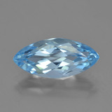 thumb image of 3.7ct Marquise Facet Sky Blue Topaz (ID: 454845)