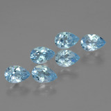 thumb image of 3.3ct Pear Facet Sky Blue Topaz (ID: 454883)