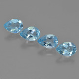 thumb image of 3.2ct Pear Facet Sky Blue Topaz (ID: 454915)
