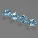 thumb image of 3.4ct Pear Facet Sky Blue Topaz (ID: 454918)
