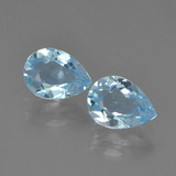 thumb image of 1ct Pear Facet Sky Blue Topaz (ID: 455019)