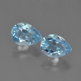 thumb image of 1.8ct Pear Facet Sky Blue Topaz (ID: 455025)