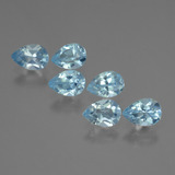 thumb image of 3.2ct Pear Facet Sky Blue Topaz (ID: 455040)