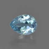 thumb image of 0.8ct Pear Facet Sky Blue Topaz (ID: 455062)