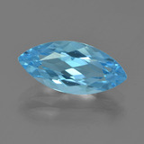 thumb image of 3.8ct Marquise Facet Sky Blue Topaz (ID: 455074)