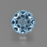 thumb image of 2.6ct Round Facet Sky Blue Topaz (ID: 455118)