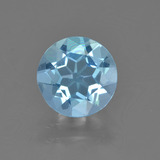 thumb image of 2.1ct Round Facet Sky Blue Topaz (ID: 455125)