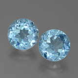 thumb image of 4.8ct Round Facet Sky Blue Topaz (ID: 455160)