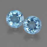 thumb image of 4.8ct Round Facet Sky Blue Topaz (ID: 455248)