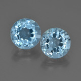 thumb image of 2.3ct Round Facet Sky Blue Topaz (ID: 455250)
