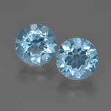 thumb image of 4.7ct Round Facet Sky Blue Topaz (ID: 455252)