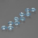 thumb image of 5.2ct Pear Facet Sky Blue Topaz (ID: 455316)