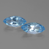 thumb image of 7.3ct Marquise Facet Sky Blue Topaz (ID: 455327)