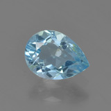 thumb image of 0.8ct Pear Facet Sky Blue Topaz (ID: 455371)
